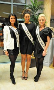 Miss Utah USA Kendyl Bell, Miss Utah Teen USA Keilara McCormick, Miss Arizona USA Erika Frantzve